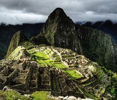 Machu Picchu @ Peru http://www.inkatrail.com.pe/
