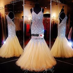 Wholesale Vestidos De Fiesta New 2017 Mermaid Lilac Beaded Spaghetti Straps Prom Pageant Gown