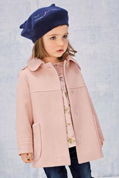 Ideas Fashion Winter Kids Jackets For 2019 Girls Casual Dresses, Little Girl Outfits, Little Girl Fashion, Little Girl Dresses, Toddler Fashion, Kids Fashion, Stylish Dresses, Fashion 2017, Trendy Fashion