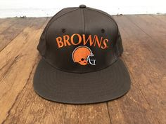 72e792fe551 Vintage Browns NFL Hat