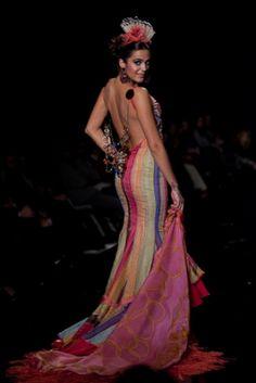 Traje de Flamenca - Angeles-Verano - Simof-2009