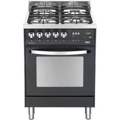 73000 bigprice lofra cucina rainbow 60x60cm 4 fuochi gas forno elettrico nero matt pnm66mft