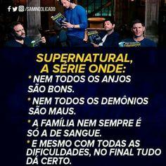 Supernatural é sobrenatural