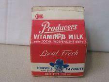 Vintage Milk Carton Ray S Dairy Co Chocolate Dairy