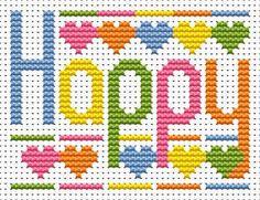 Happy Cross Stitch - Sew Simple