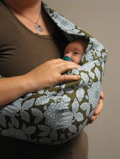 30 Minute Baby Sling PDF Pattern from CandyCoQuilting | Check out patterns on Craftsy!