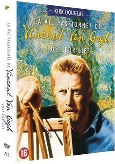 La Vie passionnée de Vincent van Gogh avec KIRK DOUGLAS  en  BLU-RAY - NEUF