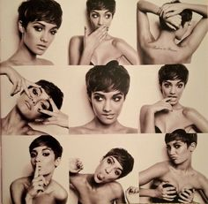 frankie sandford from the saturdays. i just love the concept of these kinds of pictures. so many personalities in one pic!