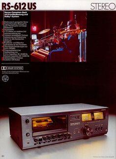 1978 National Panasonic RS-612 US