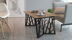 Coffee Table ORIGAMI (Black)