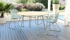 SILLÓN RAMATUELLE Un diseño intemporal para ofrecerle momentos de convivencia ¡que duran para siempre! Mesa Exterior, Outdoor Tables, Outdoor Decor, Outdoor Furniture Sets, Home Decor, Gardens, Outdoor Furniture, Outside Furniture, Interiors