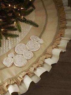 Юбка для елки - запись пользователя Марина в сообществе Прочие виды рукоделия в категории Шитье