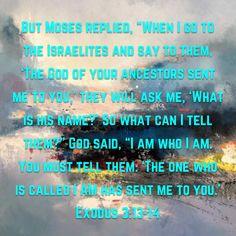 Exodus 3:13-14