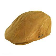 Leather Ivy Cap  available at #VillageHatShop