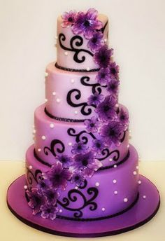 Wedding Cakes - Tall vs Short... ~ Hot Chocolates Blog