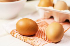Check out Fresh brown eggs by Mellisandra on Creative Market