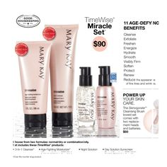 TimeWise Miracle Set - My favorite and a must try! :)