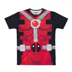 Pixel Deadpool Tee sublimation tee