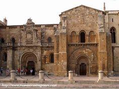 La Real Basílica de San Isidoro de León es uno de los templos más destacados del románico leonés. Fue construido en 1063 por Fernando I