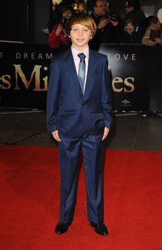 Les Miserables - Daniel Huttlestone (who portrays Gavoche) arrives at the premiere of Les Miserables at the Empire Leicester Square, London, UK, December 5, 2012. HE IS SOOOO CUTE!!