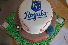 Baseball Birthday Cake » Diamond I WISH #kcroyals