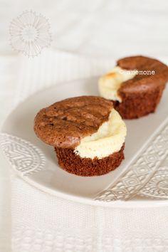 brownie cheesecake muffins...