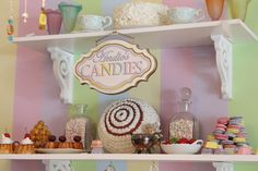 Tea Party decor @ Veronica's Dollhouse Miami