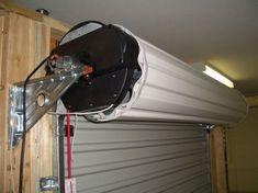 Garage Roller Doors in Sydney - Automatic and opener - Automate Garage Door Motor, Roll Up Garage Door, Double Garage Door, Garage Door Parts, Garage Door Styles, Garage Door Design, House Front Door, Garage Door Opener, Garage Doors