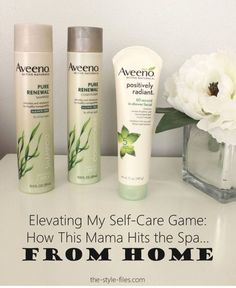 It's no surprise that I have less time to devote to my beauty game in this season of life, so my strategy has been to use a few quality products and create regular self-care habits so make my skin, hair and nails look great without a lot of primping. #TimewithAveeno #ad @Aveeno @walmart