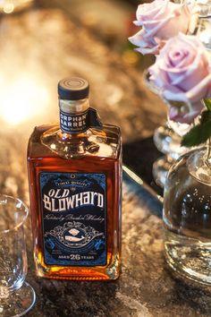 Orphan Barrel Old Blowhard bourbon Bourbon Liquor, Bourbon Barrel, Beer Labels, Bottle Labels, Good Whiskey, Orphan, Barrels, Label Design, Distillery