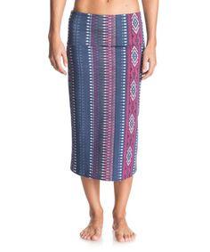 Loving this Blue Sayra Wind Skirt on #zulily! #zulilyfinds