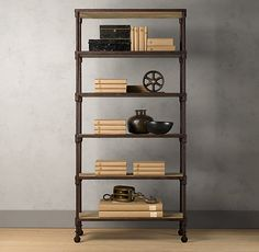 Dutch Industrial Single Shelving - existing