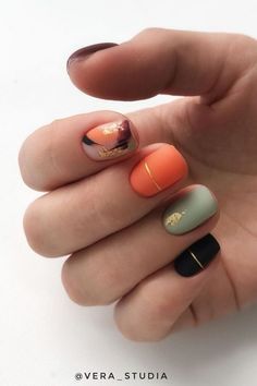 Nails Most Beautiful Fall Nail Designs 2019 Amazing autumn nails colors 2019 idea! Nails Most Beautiful Fall Nail Designs 2019 Minimalist Nails, Matte Nail Art, Acrylic Nails, Coffin Nails, Gorgeous Nails, Pretty Nails, Hair And Nails, My Nails, Autumn Nails