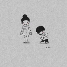 Drawing Cartoon Faces, Cute Bear Drawings, Cute Couple Drawings, Cute Love Wallpapers, Cute Couple Wallpaper, Cute Cartoon Wallpapers, Tumblr Cute Couple, Cute Couple Art, Creative Profile Picture