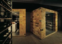 WINE STORES! Celler de Can Roca restaurant by Sandra Tarruella & Isabel López Vilalta, Girona - Spain