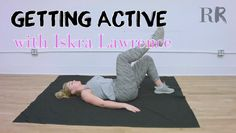 Iskra Lawrence's Core-Strengthening Ab Workouts You Can Do Anywhere | GETTING ACTIVE - Episode 005