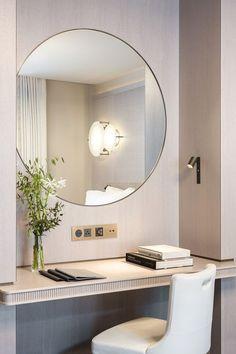 New Bedroom Design Hotel Chic Ideas Design Hotel, Hotel Bedroom Design, Hotel Style Bedrooms, Luxurious Bedrooms, Hotel Bedroom Decor, Hotel Inspired Bedroom, Bedroom Ideas, Paris Bedroom, Luxury Bedrooms
