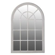 Large Multi Window Arched Window Wall Mirror