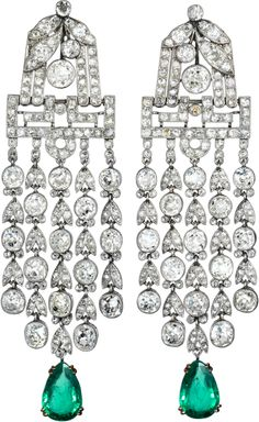 Antique piece earrings CARTIER | JV