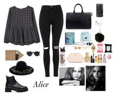 """""""Alice"""" by alicecute-sm ❤ liked on Polyvore featuring MANGO, Topshop, STOW, Eugenia Kim, Christian Dior, Louis Vuitton, Casetify, Versace, Casio and Tory Burch"""
