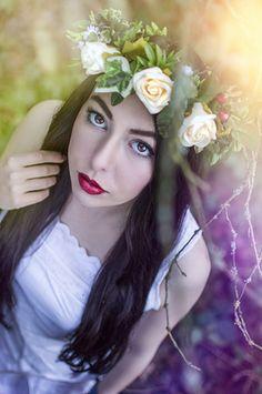 Haarkranz *Sommerblumen*