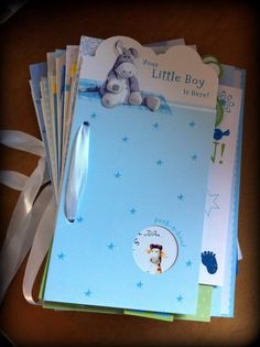 5 minute craft - storing birthday cards