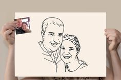 Family portrait Commission Bride and Groom di microuniverse, €40.00