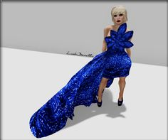 Moda no SL by Luah Benelli: VIRTUAL DIVA COUTURE e Hair Fair 2015
