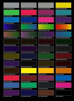 chameleon green paint for car | Aluminum Bases / Iridescent Colors / Gem Chameleon / Chameleon Flair ...
