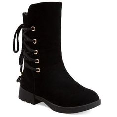GET $50 NOW | Join RoseGal: Get YOUR $50 NOW!http://www.rosegal.com/boots/back-lace-up-low-heel-suede-754025.html?seid=7262302rg754025