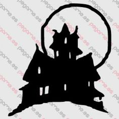 Pegame.es Online Decals Shop  #halloween #fear #vampire #moon #house #dracula #vinyl #sticker #pegatina #vinilo #stencil #decal
