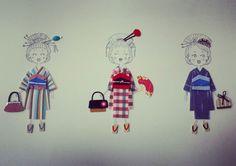 #geiko #geisha #kimono #japon #scrapbooking 👘👘👘
