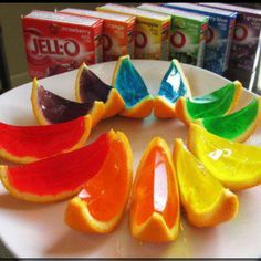 Mmmmm! Exciting. Jello shots, here I come.