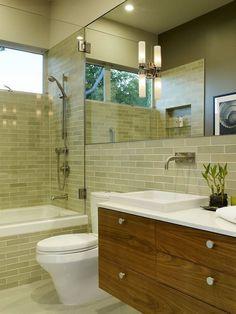 Bathroom wall tile.